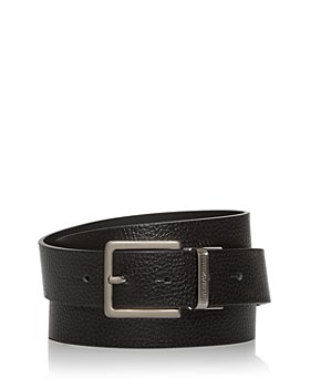 Armani - Men's Multi-Buckle Reversible Leather Belt Set