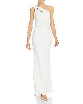 AQUA - One-Shoulder Evening Gown - 100% Exclusive