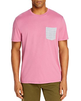 Marine Layer - Cotton Contrast Pocket Tee