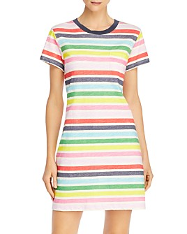 PAM & GELA - Striped Tee Dress