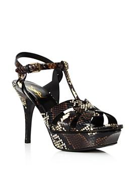 Saint Laurent - Women's Tribute 75 Platform Sandals