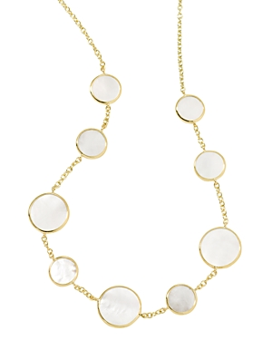 Ippolita 18K Yellow Gold Rock Candy Mother-of-Pearl Statement Necklace, 18