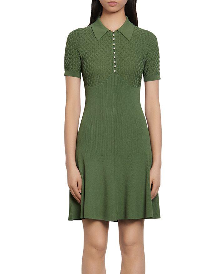 Sandro - Esmila Short Knit Dress