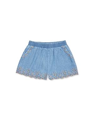 Peek Kids Girls' Amalia Embroidered Shorts - Little Kid, Big Kid