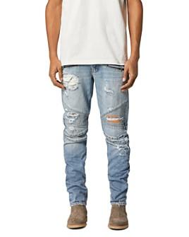 Hudson - Biker Skinny Fit Jeans in Thrasher