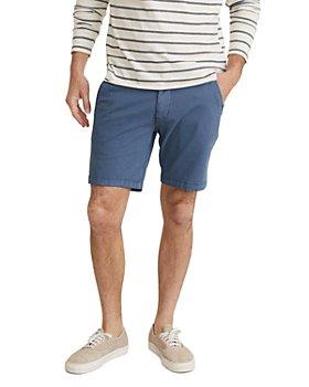 Marine Layer - Cotton Stretch Garment-Dyed Slim Fit Shorts