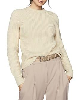 REISS - Aisling Chunky Crewneck Sweater