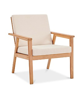 Modway - Vero Ash Wood Outdoor Patio Armchair