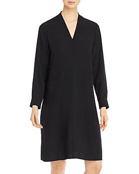 Eileen Fisher - Silk Pullover Dress