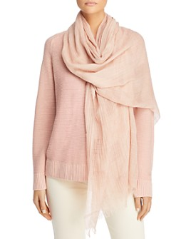Eileen Fisher - Plaid Organic Cotton Scarf