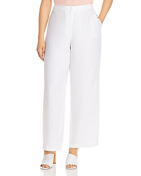 Eileen Fisher Plus - Wide-Leg Pants