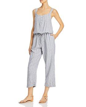 Rails - Brooklyn Striped Cropped Jumpsuit