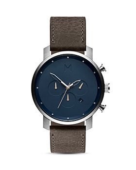 MVMT - Chrono Leather Strap Watch, 45mm