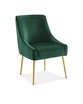 Modway - Discern Pleated Back Upholstered Performance Velvet Dining Chair