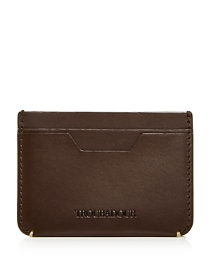 Troubadour Solo Leather Card Case