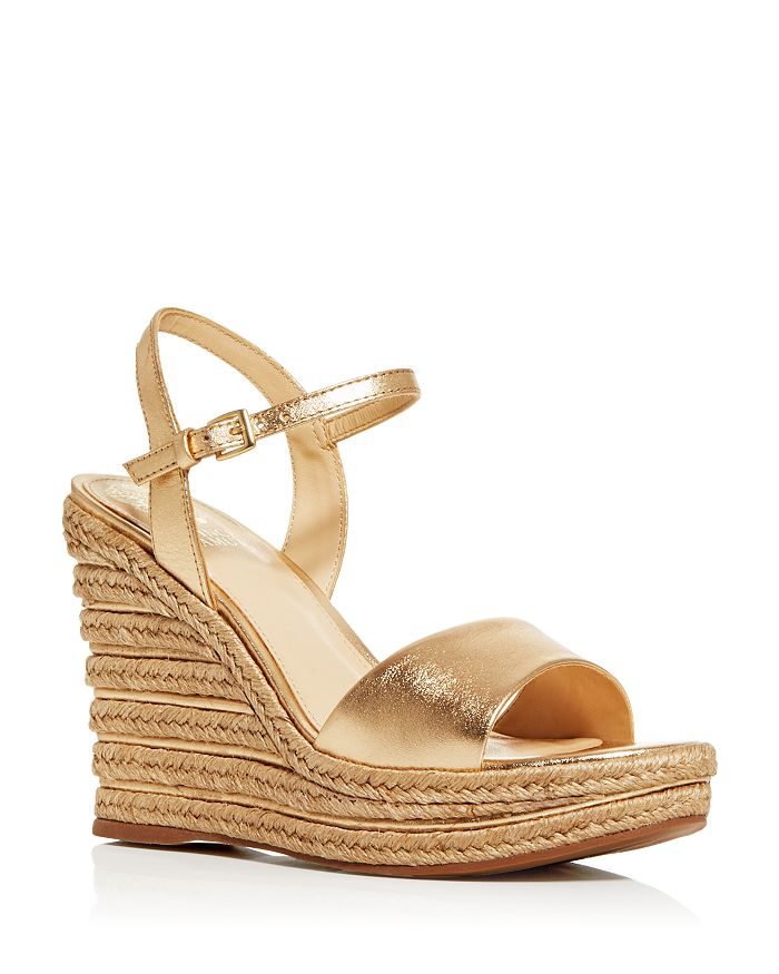 VINCE CAMUTO - Women's Marybell Espadrille Wedge Sandals