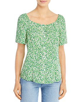 BeachLunchLounge - Etta Printed Top