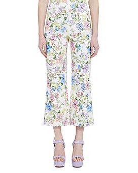 Alice and Olivia - Lorinda Floral-Print Cropped Skinny Pants
