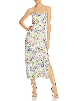 Alice and Olivia - Harmony Floral Maxi Slip Dress
