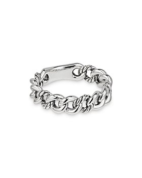 David Yurman - Belmont Curb Link Narrow Ring