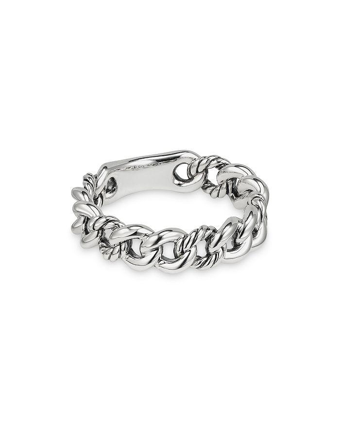 David Yurman - Belmont Curb Link Narrow Ring
