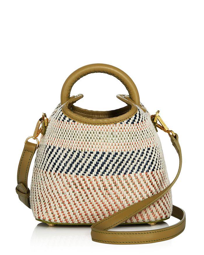 Elleme Madeleine Woven Bag In Olive