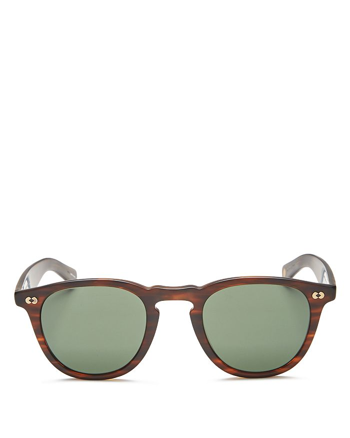 GARRETT LEIGHT - Unisex Hampton X Round Sunglasses, 46mm