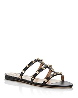 Valentino Garavani Women's Rockstud Slide Sandals