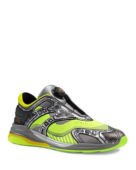 Gucci - Men's Ultrapace R Neon Low-Top Sneakers