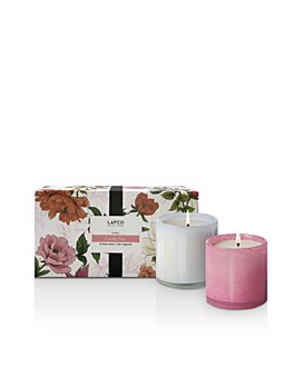 LAFCO - Duchess Peony & Star Magnolia Floral Candles, Set of 2