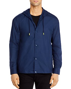 BOSS - Norwood Cotton Hooded Shirt Jacket