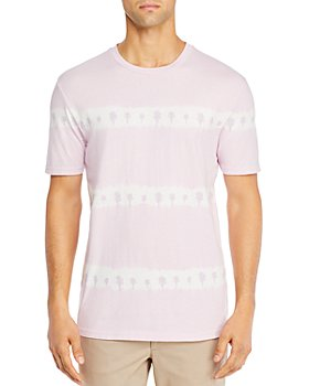 BOSS - Cotton Tie-Dyed Palm-Print Tee