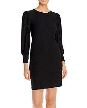 Nation LTD - Loren Puff-Shoulder Shirred-Cuff Dress