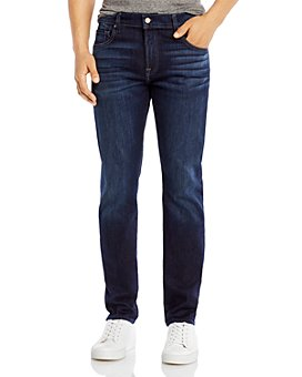 7 For All Mankind - Adrien Slim Fit Luxe Performance Jeans in Los Angeles Dark