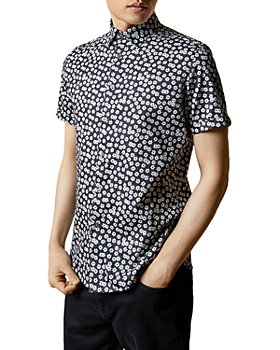 Ted Baker - Relax Slim-Fit Daisy Print Shirt