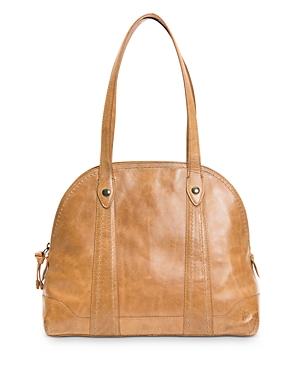 Frye Melissa Medium Domed Leather Satchel Bag-Handbags