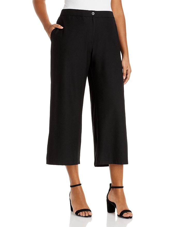 Eileen Fisher Plus - High Waist Ankle Pants