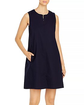 Eileen Fisher - Sleeveless Round Neck Dress