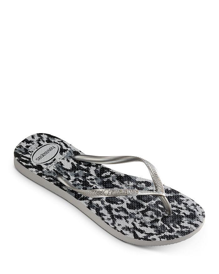 havaianas - Women's Animal Print Slim Flip-Flops