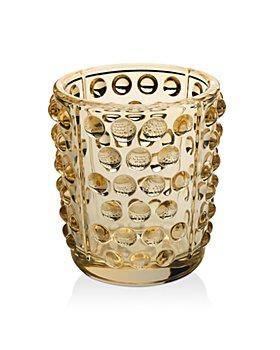 Lalique - Mossi Gold Lustre Votives, Set of 2