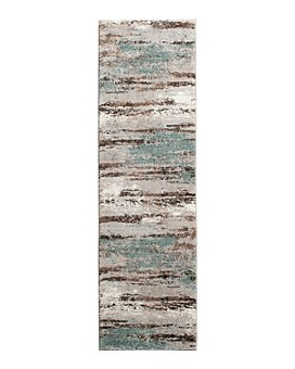 "Kenneth Mink - Leisure Cove Runner Area Rug, 2'3"" x 7'7"""