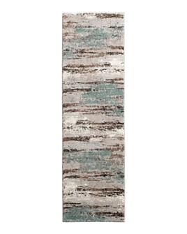"""Kenneth Mink - Leisure Cove Runner Area Rug, 2'3"""" x 7'7"""""""