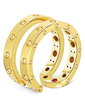 Roberto Coin 18K Yellow Gold Pois Moi Symphony Statement Ring-Jewelry & Accessories