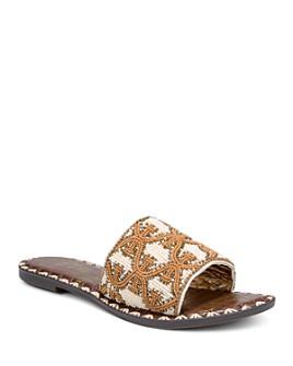 Sam Edelman - Women's Gunner Beaded Slide Sandals