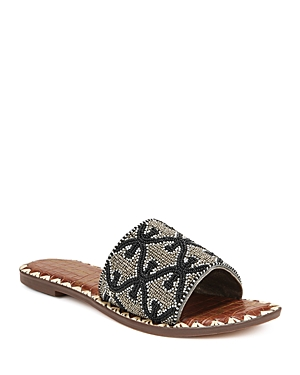 Sam Edelman Women\\\'s Gunner Beaded Slide Sandals
