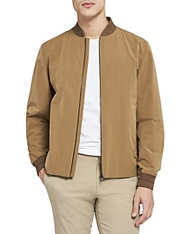 Theory - City Water-Resistant Regular Fit Bomber Jacket