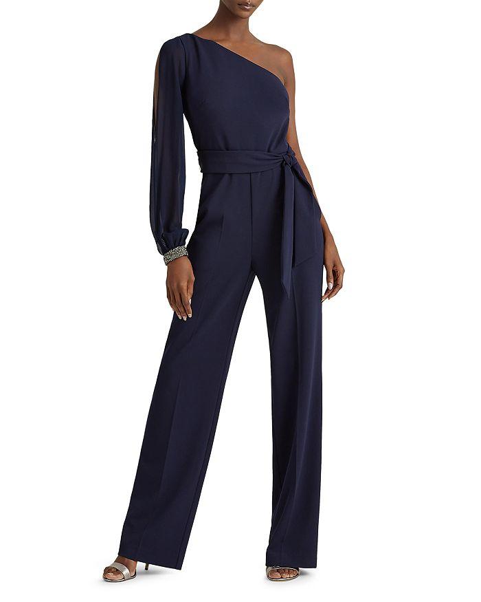 Ralph Lauren - Jersey One-Shoulder Jumpsuit