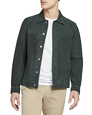 Theory Suede Shirt Jacket-Men