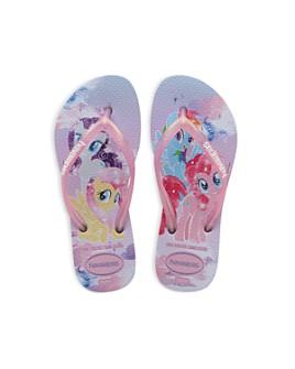 havaianas - Girls' Slim My Little Pony Flip Flops - Toddler, Little Kid