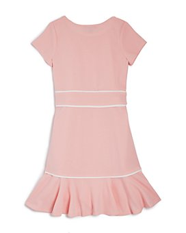 AQUA - Girls' Flounced Cap-Sleeve Dress, Big Kid - 100% Exclusive